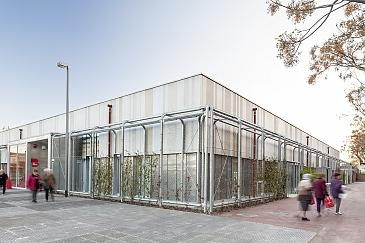 Centro Cívico Baró de Viver . Barcelona . Barcelona . España