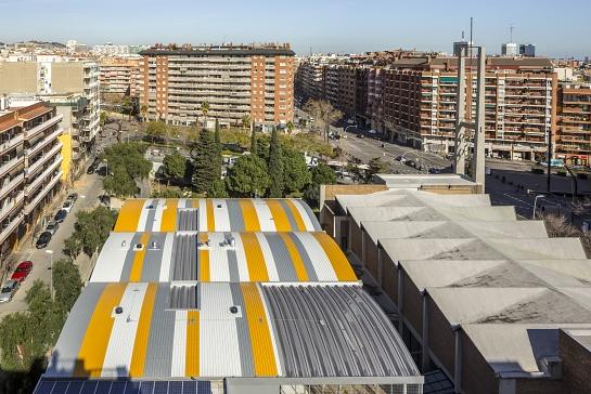 Ampliación Centro Cívico Joan Oliver . Barcelona . Barcelona . España