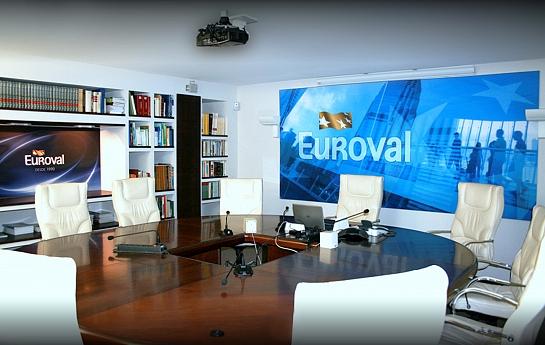 Sociedad de tasación Euroval 1, oficinas de la Sede Central . Alicante . Alacant . España