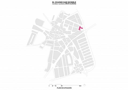 El Colegio casi Invisible . Salamanca . Salamanca . España