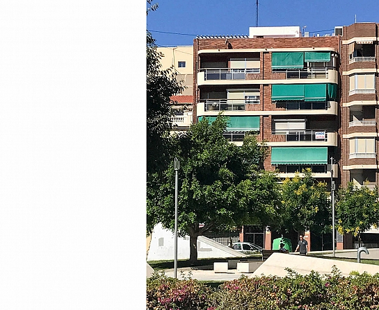 Edificio Pintor Aparicio 23 . Alicante . Alacant . España