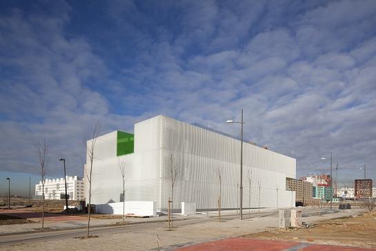 Centro de servicios sociales en Mostoles . Madrid . Madrid . España