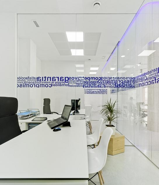 Oficinas MAZA Grupo . Yecla . Murcia . España