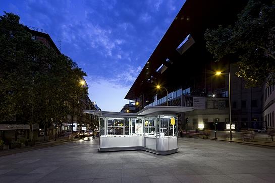 Quioscos Urbanos de Información Turística en Madrid . Madrid . Madrid . España