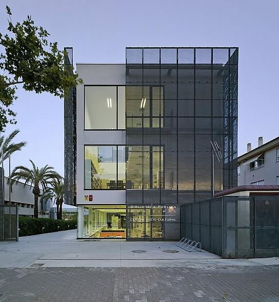 Biblioteca Pública Municipal y Centro Socio-Cultural de Aduanas del Mar . Jávea . Alacant . España