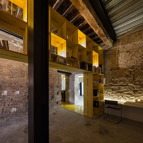 San Jerónimo 17. Reforma de local para Oficina-Taller . Granada . Granada . España