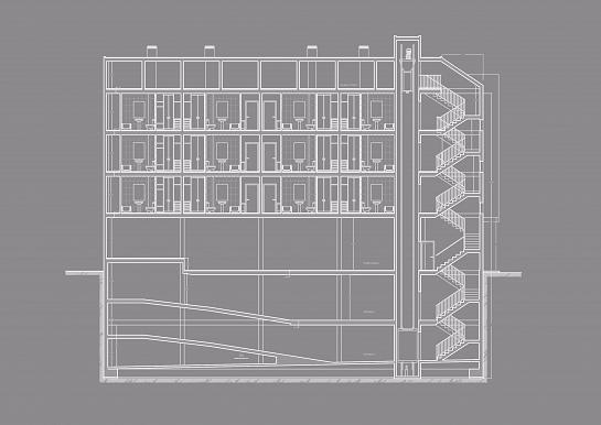 Edificación de quince viviendas . Muchamiel . Alacant . España
