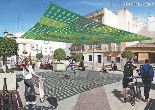 HUELLA DE LUZ. Elx con Idea 2014 . Elche . Alacant . España