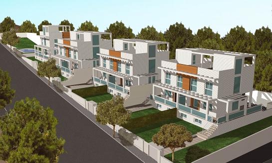 Edificación de siete viviendas en Mutxamel . Muchamiel . Alacant . España