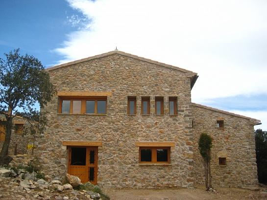 Rehabilitación de antigua masía . Vistabella del maestrat . Castellón . España