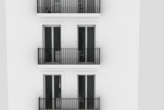 Rehabilitación Sweet San Francisco . Alicante . Alacant . España . 2014