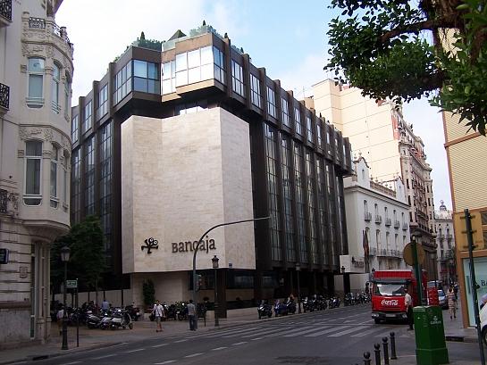 Reforma del Edificio de la sede de BANCAJA en Valencia . Valencia . València . España