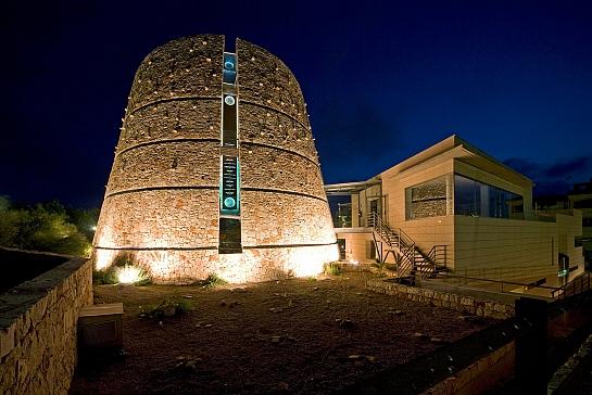 CENTRO DE VISITANTES Y ACUARIO DEL PARQUE NACIONAL DE CABRERA . Ses salines . Illes Balears . España