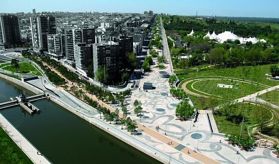 Madrid Río . Madrid . Madrid . España