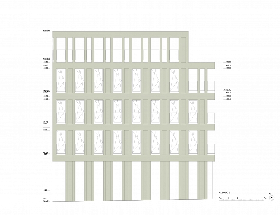 Edificio de uso terciario . Madrid . Madrid . España