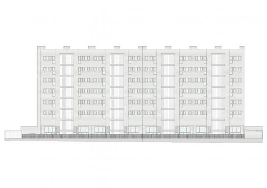 56 viviendas en Salburua . Álava . España