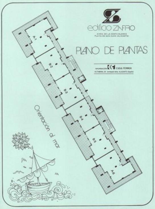 Edificio Zafiro - Playa de San Juan . Alicante . Alacant . España