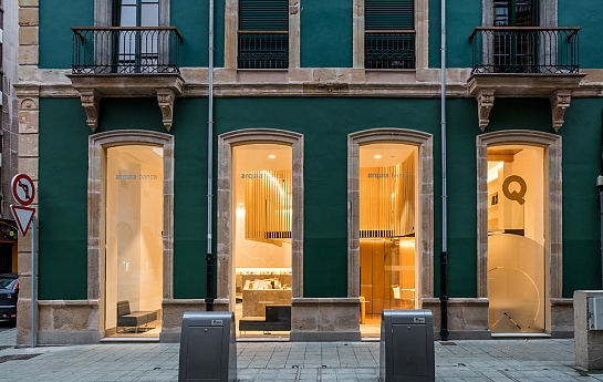 Oficina Bancaria . Gijón . Asturias . España