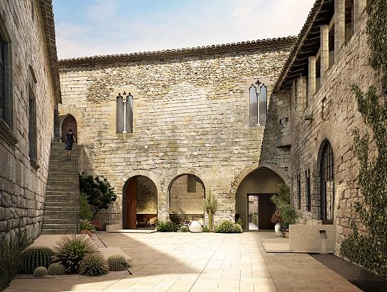 Castillo de Peratallada . Girona . Girona . España