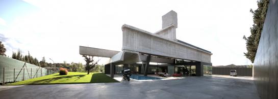 Casa Hemeroscopium . Madrid . Madrid . España