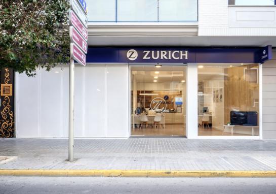 Oficina de Seguros Zurich . Villena . Alacant . España