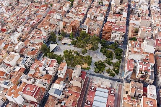 Reforma de Plaza Castelar . Elda . Alacant . España