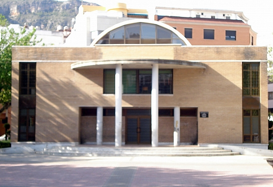 CASA DE LA MUSICA . Tavernes de la Valldigna . València . España