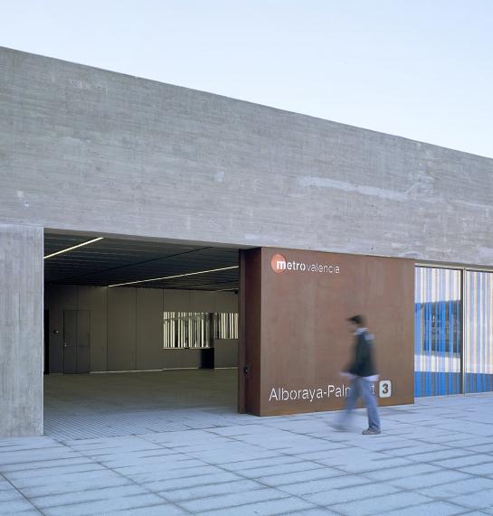 Estación de Alboraya-Palmaret . Alboraya . València . España
