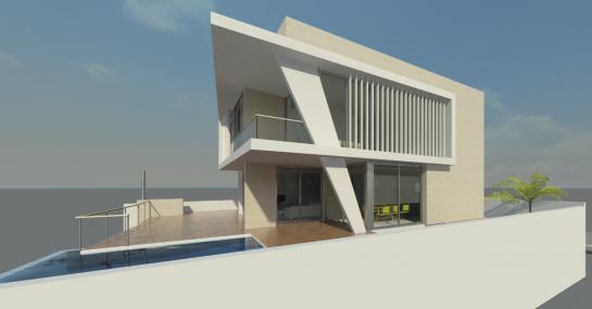 CASA GALAPAGOS GOLF ( Proyecto Básico) . Alicante . Alacant . España
