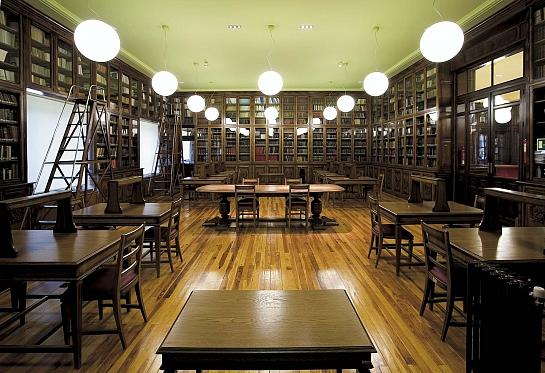 Biblioteca Instituto Geológico y Geominero de España . Madrid . Madrid . España