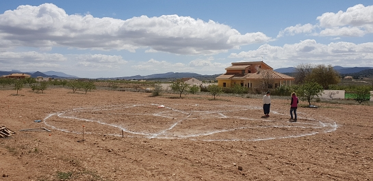 VIVIENDA UNIFAMILIAR Y ALMACÉN DE PAJA . Pinoso . Alacant . España