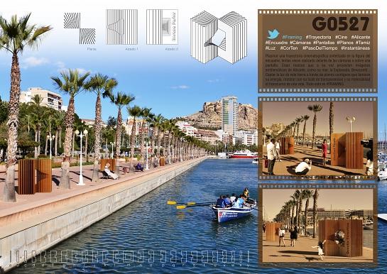 G0527 - FRAMING - Concurso Paseo La Luz de las Estrellas . Alicante . Alacant . España