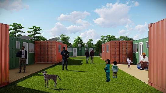 HOPE: Habitação Temporária para Refugiados