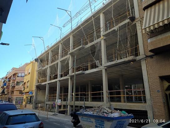 Edificio para once viviendas y aparcamiento . Alicante . Alacant . España