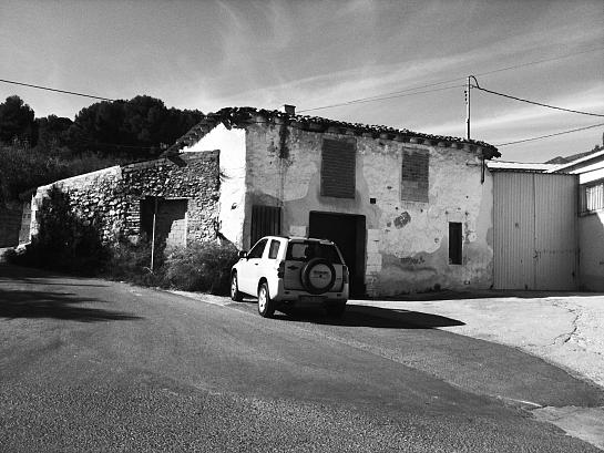 Vivienda como límite urbano . Cocentaina . Alacant . España