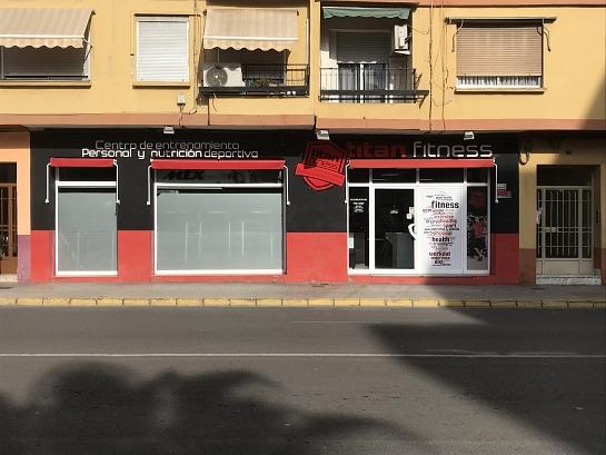 TITAN FITNESD . Benetússer . València . España