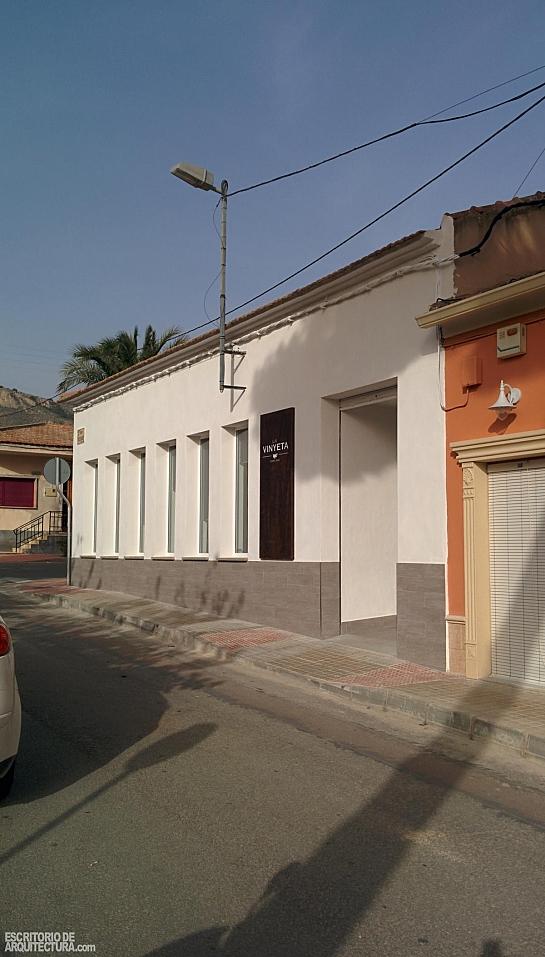 Café-Bar 'La Vinyeta' . La Romana . Alacant . España