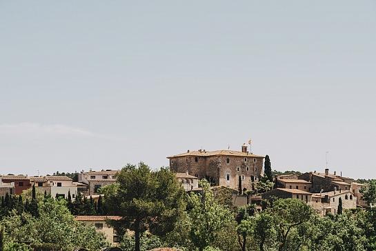 Sant Mori Pérgola . Sant mori . Girona . España