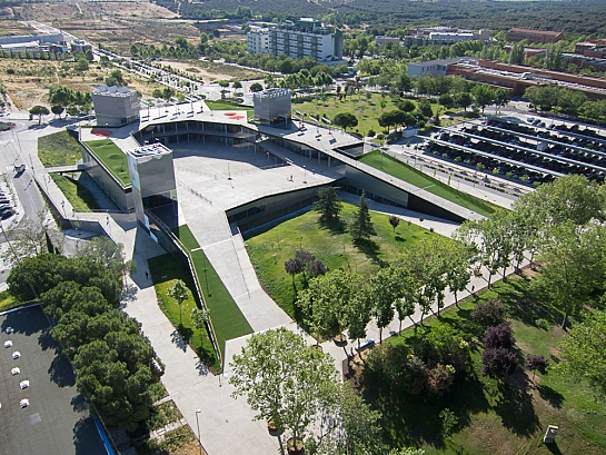 Edificio de Servicios Plaza Mayor. UAM . Madrid . Madrid . España