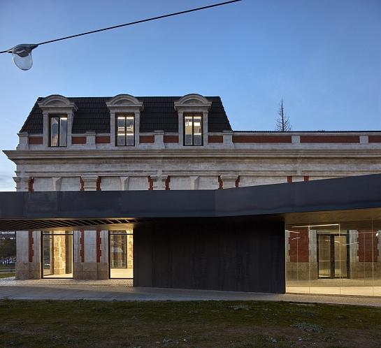 Antigua Estación de Ferrocarril de Burgos . Burgos . Burgos . España