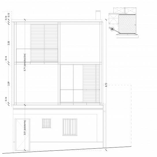 ¿POR ACABAR? Ampliación POR FASES de una vivienda de barrio. PRIMERA FASE 30.000€. . Alcoy . Alacant . España