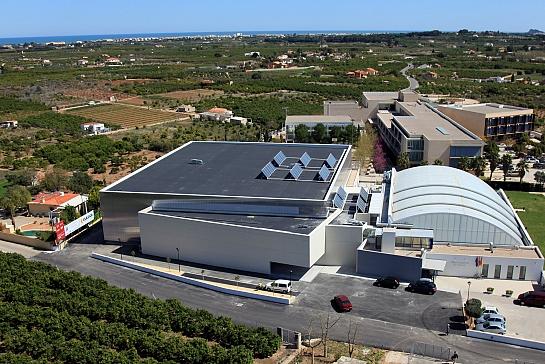 Pabellón polideportivo de Ondara . Ondara . Alacant . España