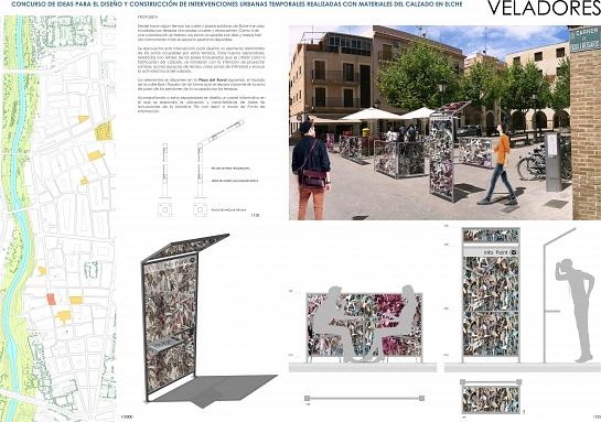 Concurso 'Elx con Idea' 2014. Finalista-reserva 2º . Elche . Alacant . España