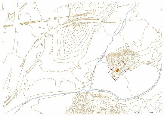 Punto de información y Pabellones de acceso al Espacio Natural y Arqueológico . Montornés del Vallés . Barcelona . España
