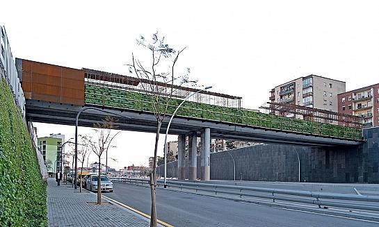 Remodelación del Puente de Sarajevo . Barcelona . Barcelona . España