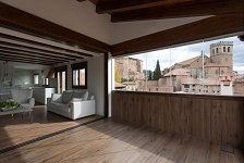 Casa entre el Castillo y el Huerto . Mora de rubielos . Teruel . España . 2018