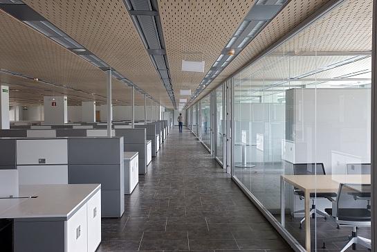 Edificio de oficinas para Tracasa . Egüés . Navarra . España