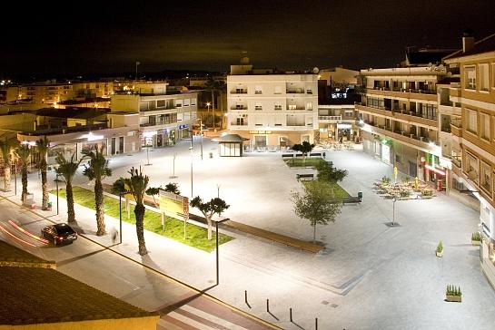 Peatonalización de Centro Urbano . Los Montesinos . Alacant . España
