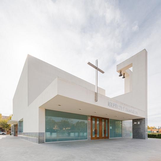 Iglesia san Juan Pablo II . Simancas . Valladolid . España