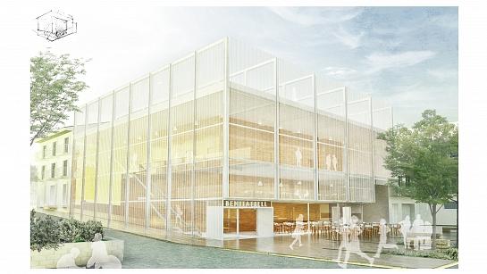 Edificio Multicultural en Benitatxell . Benitachell . Alacant . España